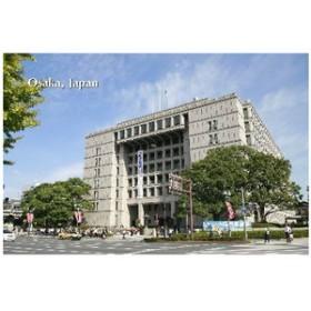ポストカードAIR【観光地シリーズ】「Osaka, Japan」大阪市役所のフォトカードポストカードハガキはがき絵葉書postcard-