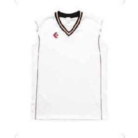 コンバース CB601701-1164-160 ジュニア用(ガールズ)ゲームシャツ(ホワイト/レッド・160)CONVERSE[CB6017011164160]【返品種別A】
