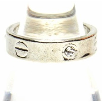 ラインストーン付き デザイン リング 指輪 レディース アクセサリー h-re527