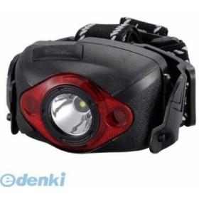 オーム電機 [07-8241] LEDヘッドライト 180lm 単4形×3本付属 LED-YH6K 078241