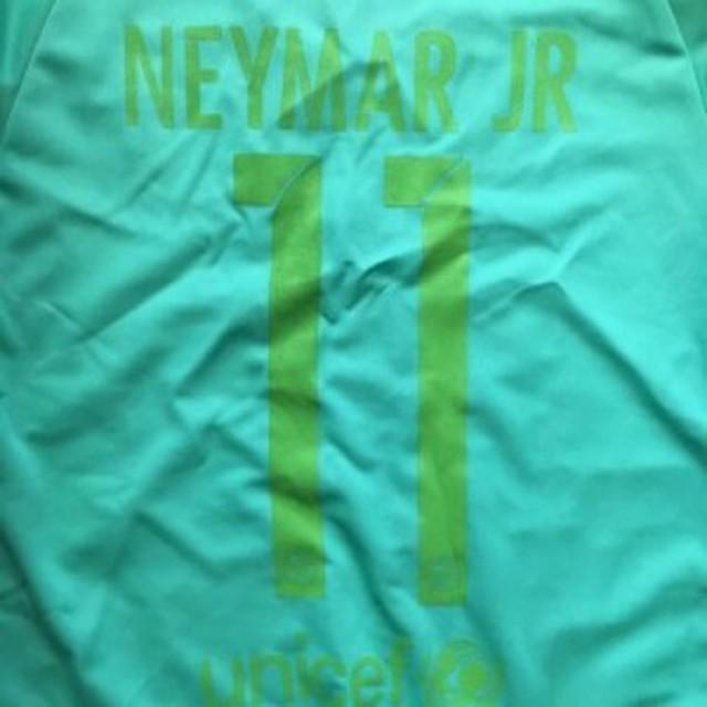 9d9ef0529e47fc 子供用 K134 17 バルセロナ NEYMAR JR11 ネイマール メロン ゲームシャツ パンツ付 /サッカー/