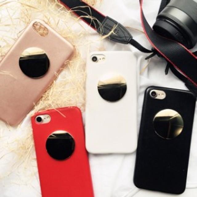 0dc2730f58 ラウンド ミラー iPhone シェルカバー ケース 鏡面 ☆ iPhone 6 / 6s / 6Plus / 6sPlus