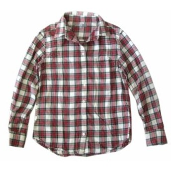 UNIQLO ユニクロ チェックネルシャツ (ブラウス) 100899【中古】