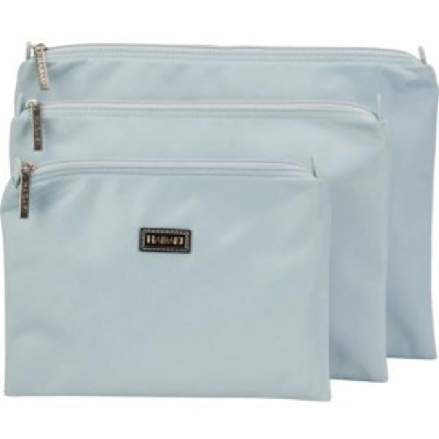 ハダキ 化粧ポーチ レディース【Hadaki Small Zippered Carry All】Gray