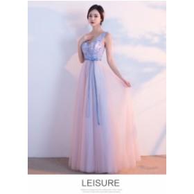 上品 大人気 ロングドレス 演奏会 パーティードレス 結婚式カラードレス ウェディングドレス お呼ばれ 発表会 フォーマル 二次会 ドレス