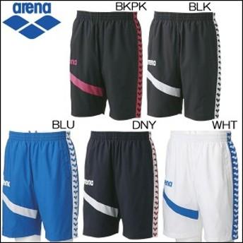 arena アリーナ 水泳 スイミング用品 ウィンドハーフパンツ 半ズボン ひざ丈 男女兼用 ユニセックス/メンズ:レディース arn-6302p