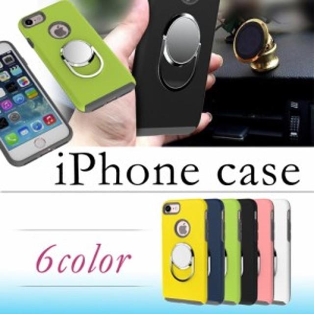 b07f56ab90 iPhone 7 ケース リング付きケース 背面スッキリ iPhone SE iPhone 6s iPhone 5s iPhone 5