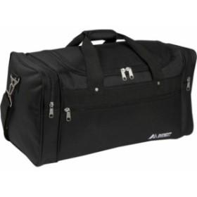 エベレスト ダッフルバッグ ボストンバッグ メンズ【Everest 22 Sports Duffel Bag】Black