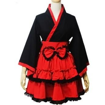 gargamel メイド服 クリスマス コスプレ コスチューム 制服 ドレス ワンピ 衣装 エプロン 仮装 アリス コスプレ衣装A167