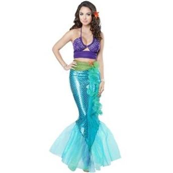 コスプレ衣裳 マーメイド風 Z3354 ハロウィンコスプレ セクシー系 Mermaid お笑い 舞台 二次会 パーティーに!