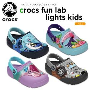 Crocs Kids Crocsfunlab Lights Fireworks Clog