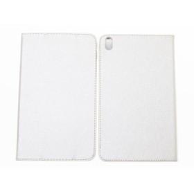 Huawei MediaPad T2 8.0 Pro用 シルク調 PUレザー 三つ折り 手帳式 カバー スタンドケース#ゴールド【新品/送料込み】