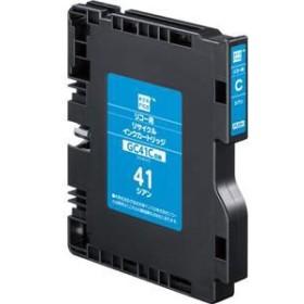 エコリカ ECI-RC41C リサイクルインク(シアン)[ECIRC41C]【返品種別A】