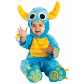 送料無料 ベビー用ミスターモンスター 赤ちゃん ハロウィン 仮装 ハロウィン 衣装 コスチューム コスプレ 仮装