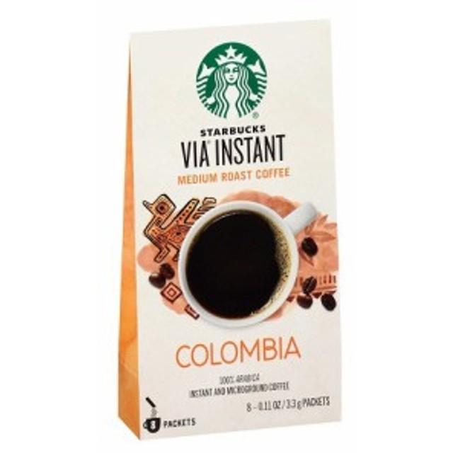 スターバックス ヴィア VIA コロンビア インスタントコーヒー 8本入り スタバ