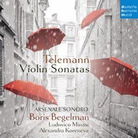 送料無料有/[CD]/ボリス・ベゲルマン/テレマン: ヴァイオリン・ソナタ集 (7曲)&無伴奏ファンタジア第9番 [Blu-spec CD2]/SICC-30460