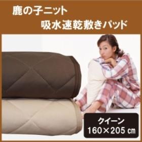 敷きパッド クイーン 160×205cm 吸水速乾 一年中快適に使えます敷きパット/敷パッド/敷パット/ベッドパッド/ベッドパット/ベットパッド/