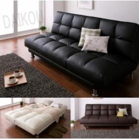 ソファベッド 3人掛け セミダブル/キルティング リクライニング カウチソファー ベッド MUE