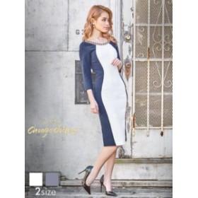 bfd7a08754847 ドレス ワンピース パーティードレス S Mサイズ  change clothes 背中見せ縦ライン