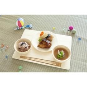 【ラッピング・のし・メッセージカード無料】FUNFAM SAN NO ZEN SET【送料無料】 竹製食器 お食い初め 出産祝い