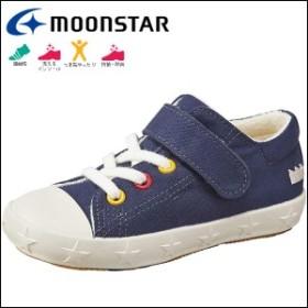 MOONSTAR ムーンスター CR C2107 スニーカー/キッズ:ジュニア:ネイビー cr-c2107-nv