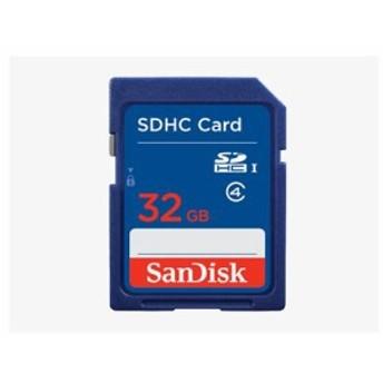■SanDisk SDHC 32GB クラス4 SDSDB-032G-B35【ネコポス可能】
