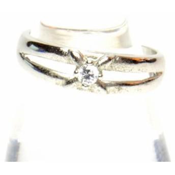 ラインストーン付き デザイン リング 指輪 レディース アクセサリー h-re662