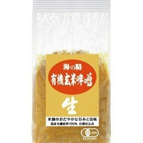 海の精 国産有機玄米味噌 10770(1kg)[味噌 (みそ)]