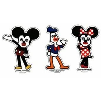 キュービックマウス 文原 ステッカー3種セット