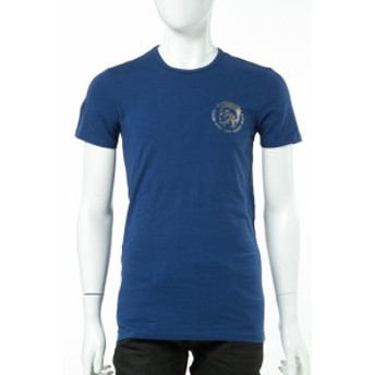 ディーゼル DIESEL Tシャツ アンダーウェア メンズ (00CG24 0GALQ) ブルー