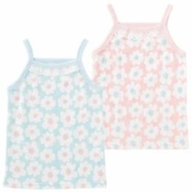 ベビー服 赤ちゃん 服 ベビー 下着 女の子 80 90 95 100  デイジー柄キャミソールインナーシャツ