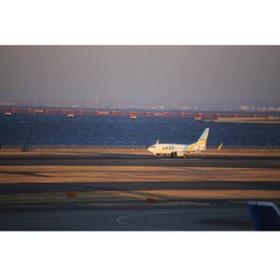 羽田空港を飛び立つAIRDO エアードゥのポストカード 葉書はがきハガキ
