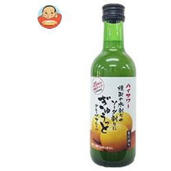 【送料無料】 博水社 ハイサワー ぎゅうっとグレープフルーツ 300ml瓶×12本入