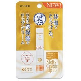 ロート製薬 メンソレータム メルティクリームリップ(リッチハニー)  2.4g <リップクリーム・リップケア>