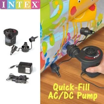 INTEX(インテックス) クイックフル AC/DCポンプ 66631(空気入れ/電動)
