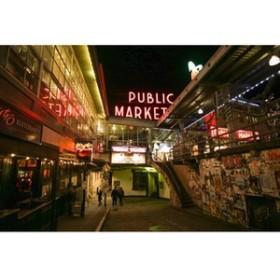 【アメリカのポストカードのAIR】ワシントン州シアトルの葉書ハガキはがき photo by MIRO