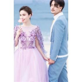 高級なロングドレス 演奏会 パーティードレス 結婚式 ドレス マーメイドドレス お呼ばれ 発表会 フォーマル 二次会 ドレス撮影用