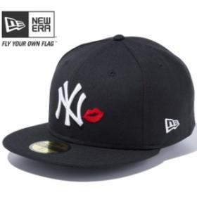 【新品】【再入荷】ニューエラ 5950キャップ マルチロゴ ニューヨークヤンキース リップ ブラック ホワイト レッド New Era NewEra