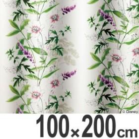 カーテン 遮光カーテン スミノエ ミッキー ワイルドフラワ- 100×200cm ( 送料無料 ディズニー ドレープカーテン ミッキーマウス