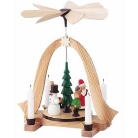送料無料 北欧 輸入 クリスマス 飾り ドイツ 雑貨 キャンドル インテリア ドレクセル ウィンドミル スノーマン