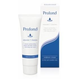 保湿 Profond(プロフォン) モイスチャークリーム ボディクリーム フェイス 敏感肌 乾燥肌 マッサージ 高保湿