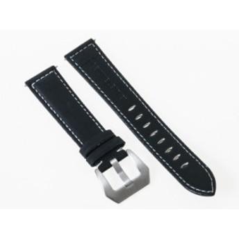 ファッション シンプル 腕時計 交換用 ヴィンテージ感 マットPUレザー ベルト バンド#18mm/ブラック【新品/送料込み】