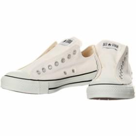 コンバース(CONVERSE) オールスター スリップ III OX ホワイト 32163790 【カジュアルシューズ メンズ レディース スニーカー 靴】