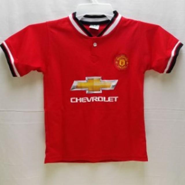 a938791ea9f0a8 子供用 K008 15 マンチェスター 赤 ゲームシャツ パンツ付 /サッカー/キッズ/ジュニア