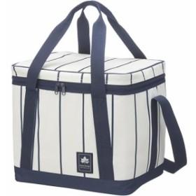 ロゴス(LOGOS) キャンプ クーラーボックス デザインクーラー25 (ピンストライプ) 81670703 【アウトドア クーラーバッグ 保冷バッグ