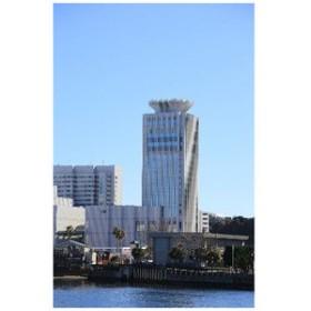 【風景ポストカード】神奈川県横須賀市の海上からの景色絵葉書・ハガキ【ポストカードのAIR】