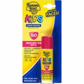 Banana Boat Kids Sunscreen Stick SPF 50 0.55oz 15.6g バナナ・ボート キッズ用 日焼け止め スティックタイプ