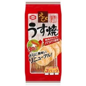 ★まとめ買い★ 亀田製菓 えびうす焼 ×12個【イージャパンモール】