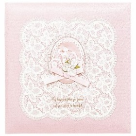 ナカバヤシ  フエルアルバム 婚礼用 グレースフルマリッジ 布表紙 オルゴール付