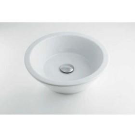 カクダイ LY-493204 丸型洗面器 LY-493204【イージャパンモール】